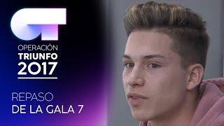 REPASO DE ACTUACIONES DE LA GALA 7 | OT 2017