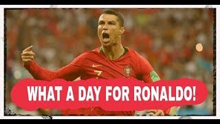 Ronaldo avoids prison then bags himself a hat-trick!