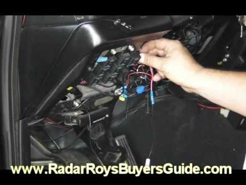 How To Video How To Direct Wire Your Radar Detector