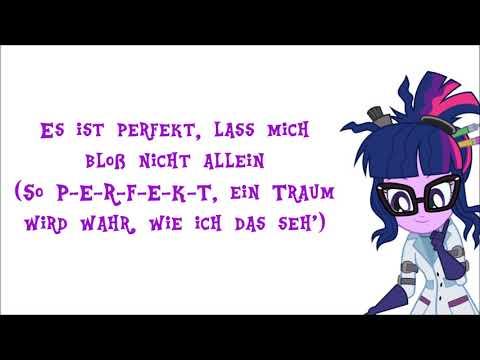 """MLP EG: Summertime Shorts """"Mad Twience"""" (German/Deutsch) Lyrics"""