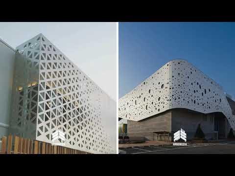 facade building Idea | fasade bangunan | design facade building | facade laser metal | by argonesia