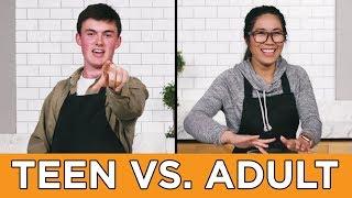 Teen Vs. Adult: Burger Recipe Challenge