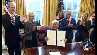President Trump Signs Executive Order on Supporting Veterans during their Transition from Uniformed