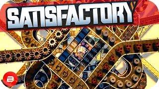 Conveyor Belts, Automation, Splitters & Upgrades in Satisfactory! (Satisfactory Gameplay)