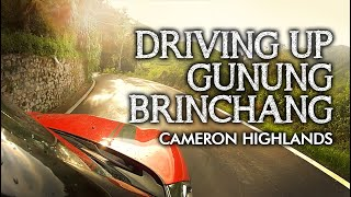 preview picture of video 'Driving Up Gunung Brinchang, Cameron Highlands'
