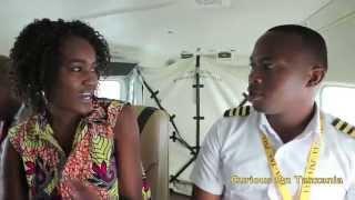 Story about Young Tanzanian Pilot.