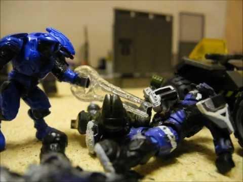 The Assault on desert outpost 171. Part 2. Halo Mega Bloks. Stop Motion. TheSSMotion