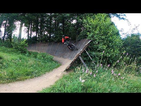 Bikepark Klíny černá 2021