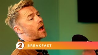 Boyzone - Dancing (Kylie Minogue Cover) - Radio 2 Breakfast Show Session