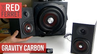 Gravity Carbon Speakers - The BASS MONSTER!
