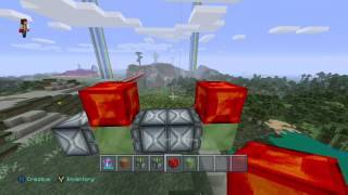 how to make a flying machine in minecraft xbox one