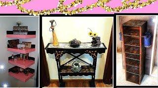 DIY Cardboard Furniture Ideas ||Best Out Of Waste: