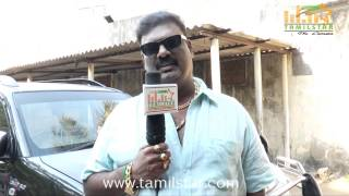 Thalapathi Dinesh at Adhu Vera Idhu Vera Team Interview