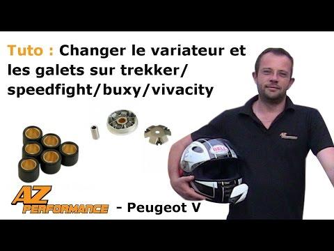 Changer le variateur et/ou les galets de son Speedfight 1-2 / Trekker / Buxy / ...