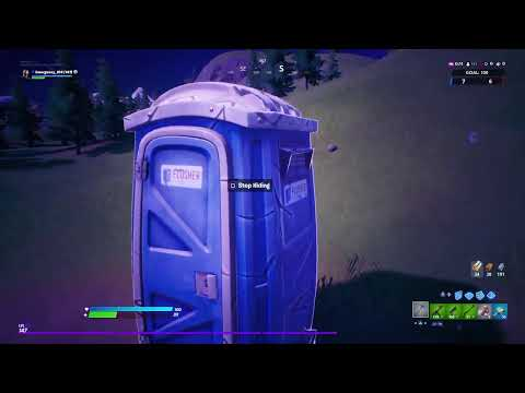 Fortnite chapter 2, my new secret place lol try and find me