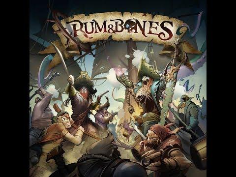 The Purge: # 1637 Rum & Bones: 1st Edition Pirate Fighting Goodness