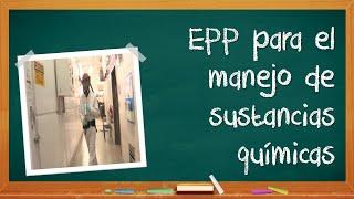 EPP para el uso de productos químicos