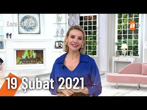 Esra Erol'da 19 Şubat 2021 | Cuma