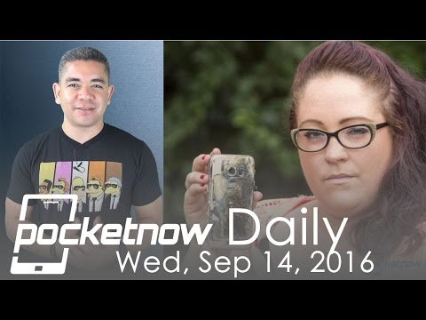 Samsung Galaxy S7 explodes on video, Android Wear future & more - Pocketnow Daily