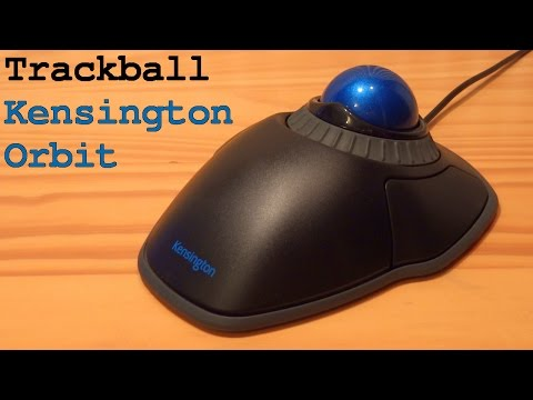 Kensington Orbit Mouse Trackball with Scroll Ring   Unboxing Overview Installation Test