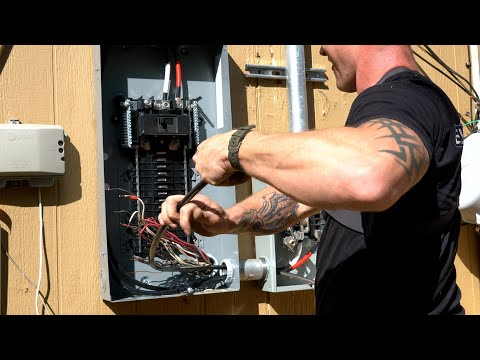 How to Replace an Electrical Service Panel (PART 2)