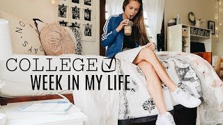 BUSY WEEK IN THE LIFE OF A COLLEGE STUDENT AT UNIVERSITY OF OREGON
