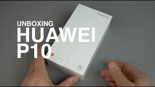 Huawei P10 Unboxing and Hands-on