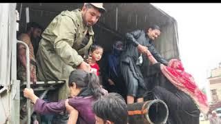 Karachi mein barish se mutasra afrad ki bahali kay liye fouj ka rescue operation