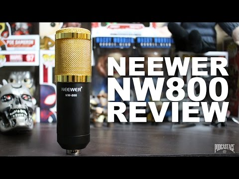 Neewer NW-800 Condenser Microphone Review / Test