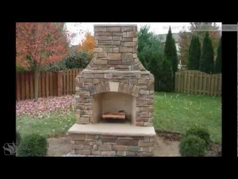 FireRock Outdoor Fireplace Installation