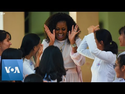 Michelle Obama, Jenna Bush Hager and Julia Roberts Promote Girls' Education in Vietnam