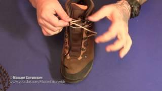 Как правильно завязывать шнурки из паракорда, чтобы они не развязывались сами