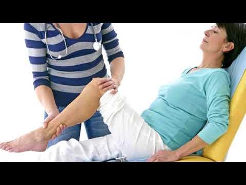 Verbandtechnik auf Knöchel