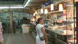 preview picture of video 'Mallorca. Algaida. Museu i fàbrica de vidre. Cristal, Glass. Glas'