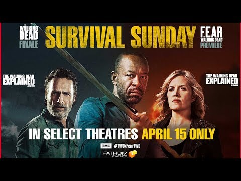 The Walking Dead is Coming to a Theater Near You!