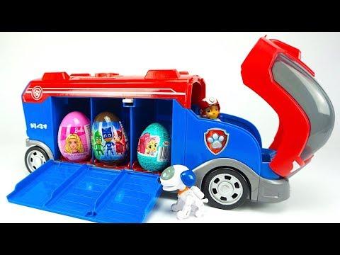 Щенячий патруль сюрпризы и игрушки для детей. Игрушкин ТВ видео