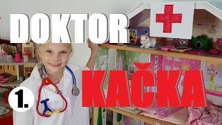 Doktor Kačka 1 🚑  představení nemocnice   Testování hraček   Máma v Německu