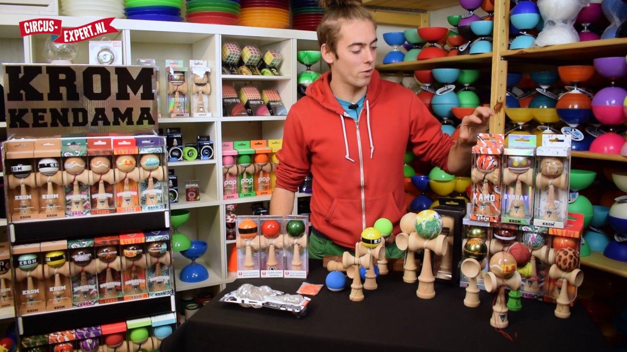 product video KROM Sosohan - Chipmunk - Eekhoorn Kendama