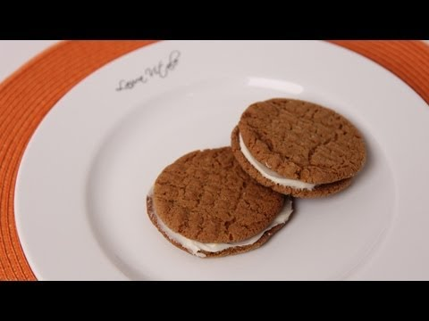 Cream Filled Ginger Cookies Recipe – Laura Vitale – Laura in the Kitchen Episode 469