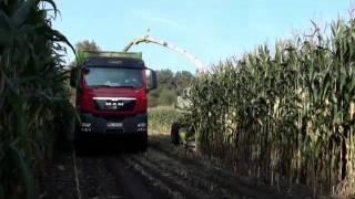 preview picture of video 'Maisernte 2011 in Oranienburg'