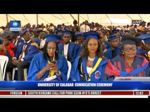 University Of Calabar Convocation Ceremony Pt 1