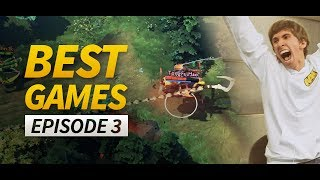 Best Games in Dota 2 History - Episode 3 (Fountain hooks)