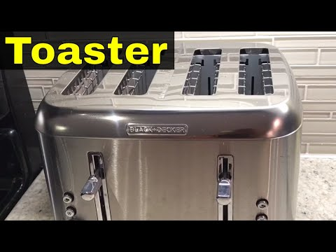 Black And Decker 4 Slice Toaster Review