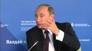 Путин vs Злобин.  «Валдай» 24.10.2014