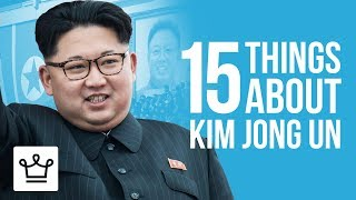 15 Things You Didn't Know About Kim Jong Un