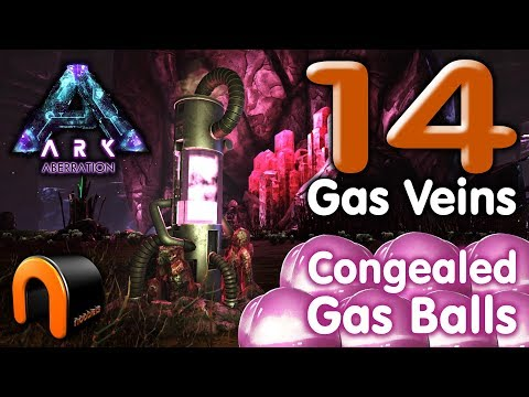 ARK - 14 GAS VEINS In ONE Area = CONGEALED GAS BALL FARM!