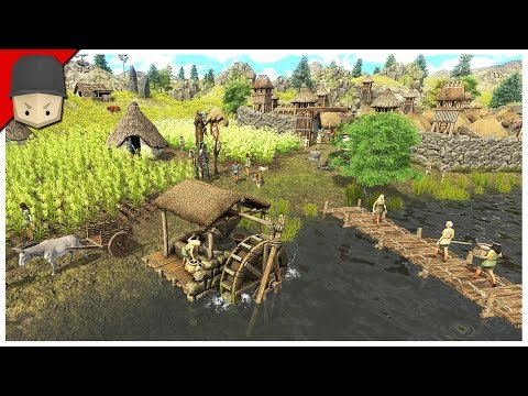 DAWN OF MAN – FIRST LOOK GAMEPLAY – Ep.01 (Survival/City Builder)