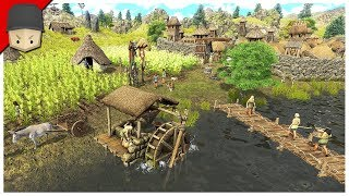 DAWN OF MAN - FIRST LOOK GAMEPLAY (Survival/City Builder)