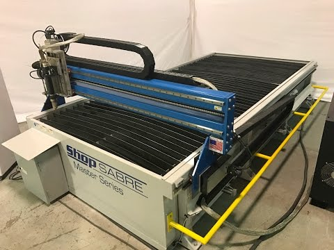 ShopSabre CNC ShopMaster PRO Series with RouterBoBvideo thumb