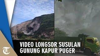 Detik-Detik Longsor Susulan Gunung Kapur Puger dan Ada Korban, Sutopo: Kita Sering Abai Risiko
